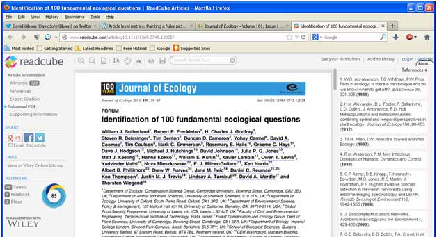 Accessing article level metrics   Journal of Ecology Blog