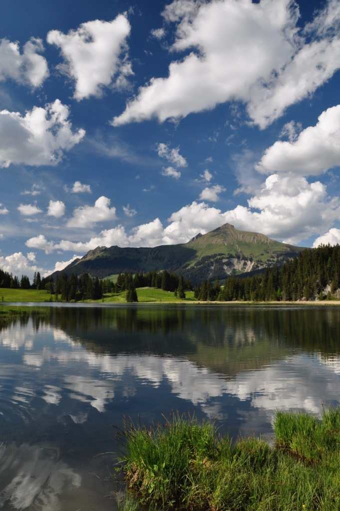 Lake Lauenensee (1382 m asl.)