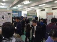 Highschool ecology poster session at the Annual Meeting of the Ecological Society of Japan