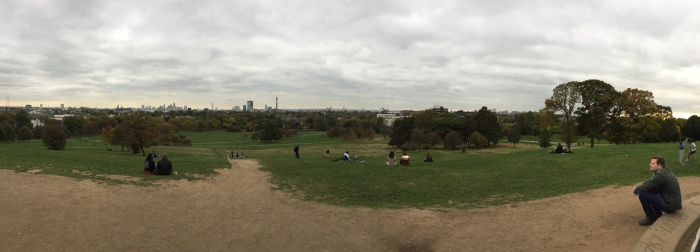 Green London: the view from Primrose Hill (credit: Jack Daniels)
