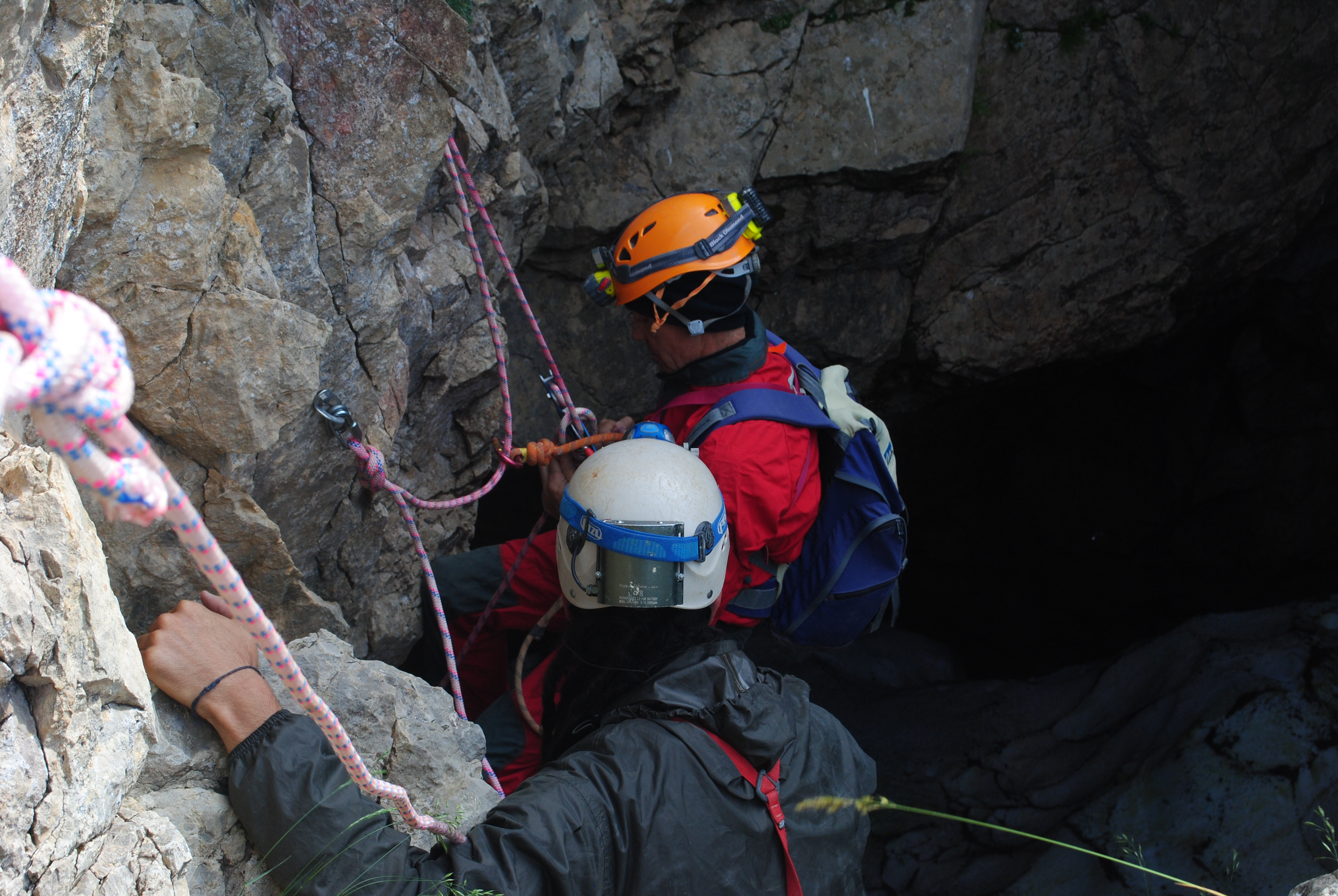Maria Leunda Entrance to the cave
